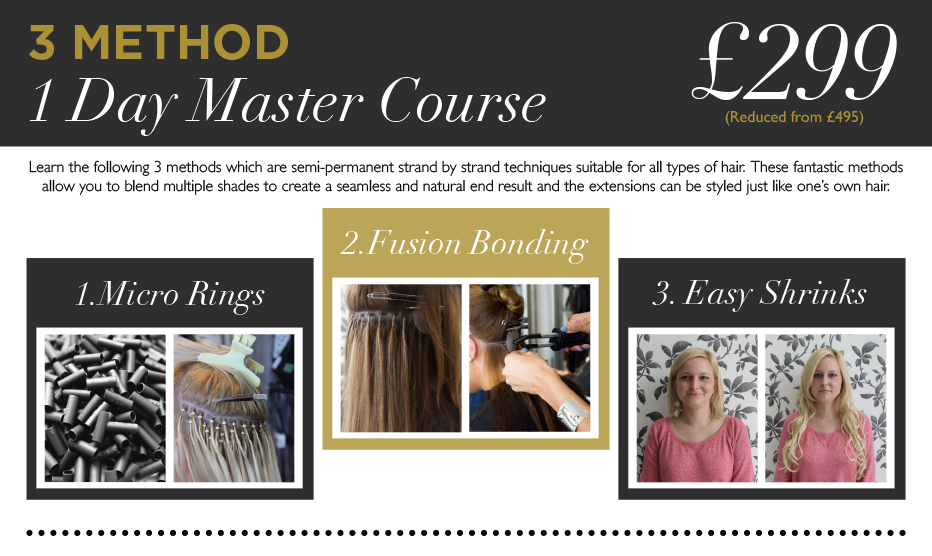 Hair Extension Courses 020 7993 4826 Belle Salons London Hair