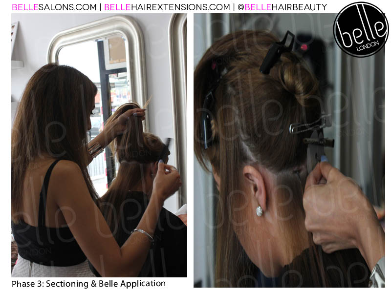 stage 3 sectioning and application